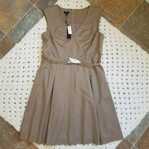 Talbots Fully Lined Wool Fit and Flare Dress NWT